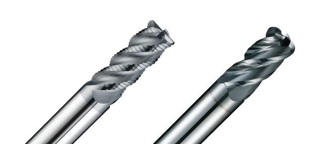 End Mills for Titanium